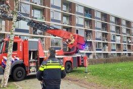 Brand in flatwoning Poelenburg