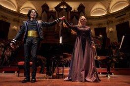 Trompettiste Melissa Venema en meesterpianist Wibi Soerjadi in concert
