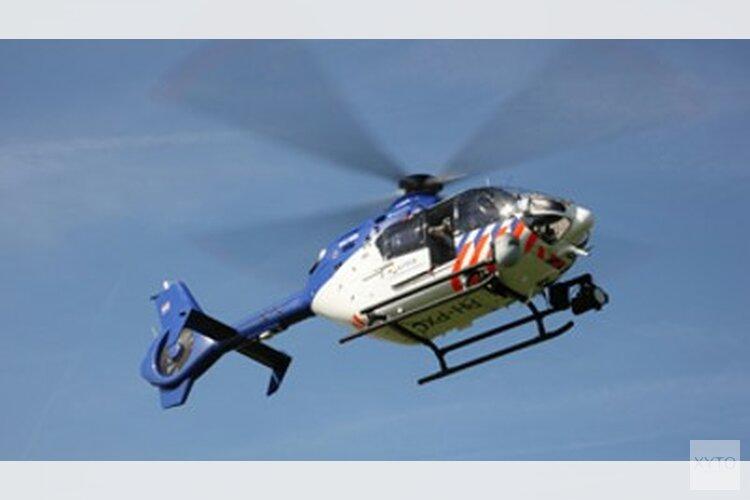 Bootjesdief gepakt met hulp van politiehelikopter