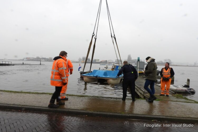 Zes bootjes in beslag genomen in Zaandijk