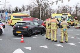 Motorrijder zwaar gewond bij ongeval Oostzaan