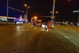 Botsing op drukke kruising in Zaandam