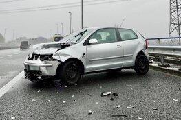 Gewonde bij ongeval A8