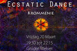 Ecstatic Dance Krommenie 20 maart in De Groote Weiver