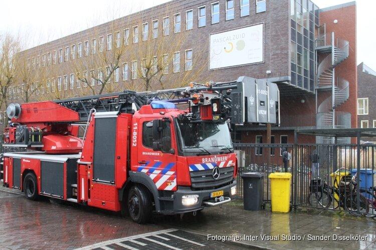 Brandje op Zaandamse school