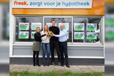 Eindstand Groen Geel-KZ is geld waard bij Freek hypotheek Zaandam
