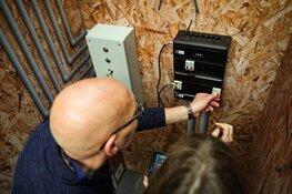 Vmbo-leerlingen maken huis vol techniek klaar voor zware storm!