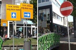 """Experiment met 'eenrichtingswinkelen' in Zaandam mislukt: """"Daar zou ik gewoon doorheen lopen"""""""
