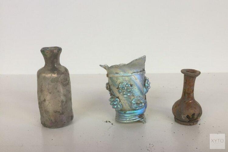 Wilhelminasluis geeft miljoenen archeologische schatten prijs