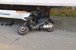 Scooterrijder zwaargewond na valpartij