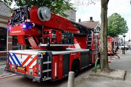 Veel schade bij brand aan Vlietsend in Krommenie