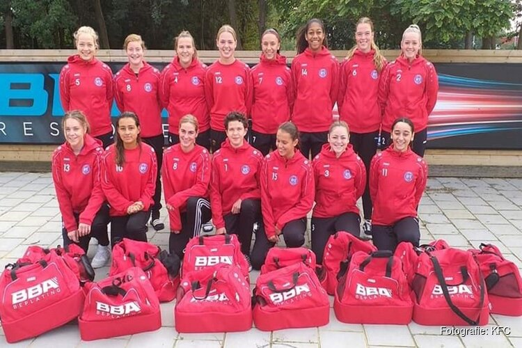 KFC zoekt versterking voor nieuw vrouwenteam op zaterdag
