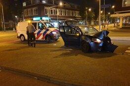 Inzittenden auto vluchten na ongeluk