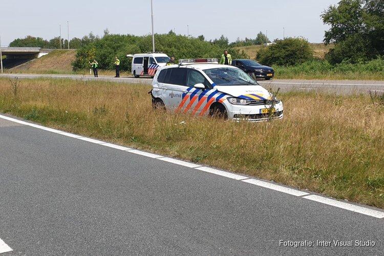 Politieauto betrokken bij ongeval