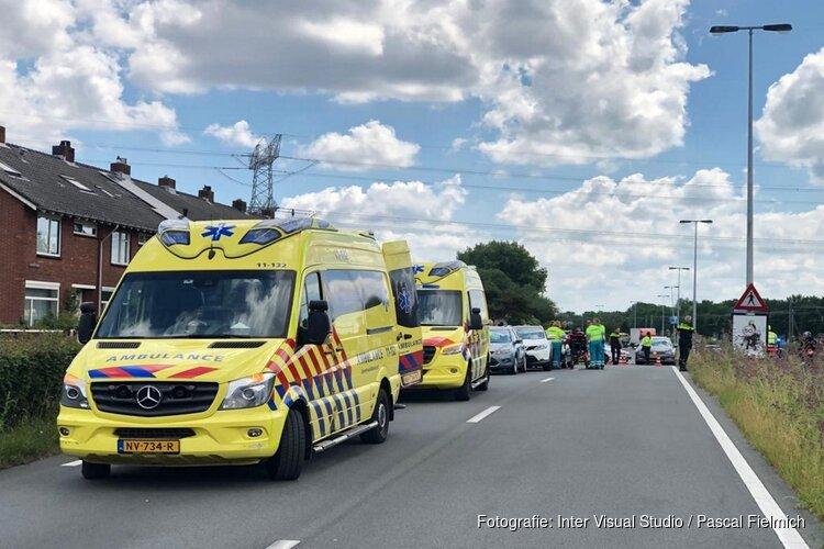 Drie gewonden bij ongeval Koog aan de Zaan