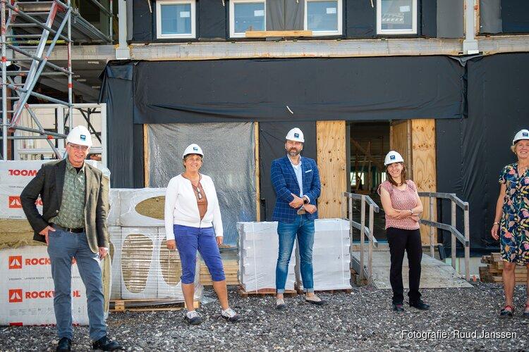 Hoogste punt nieuwbouw IKC Overtuinen bereikt