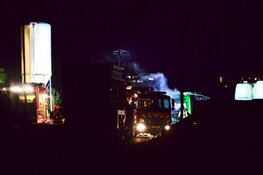 Brand in landbouwvoertuigen in Westzaan
