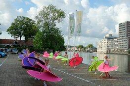 De jaarlijkse dansafsluiting van DansZaandam was dit jaar wel heel bijzonder