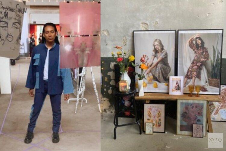 Kunstexpositie in Zaandam door afgestudeerde modestudenten van B Fashion Academy