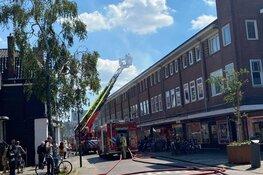 Brand op Zuiddijk in Zaandam