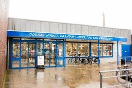 Dorcaswinkel aan de Westzijde weer terug van weggeweest