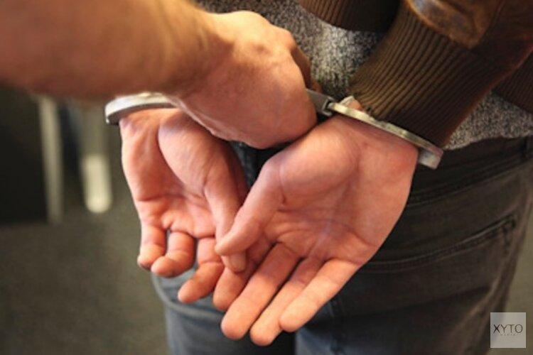 Man aangehouden voor diefstal met geweld