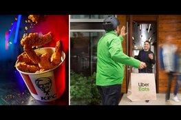 KFC gaat samenwerking aan met Uber Eats in Zaandam