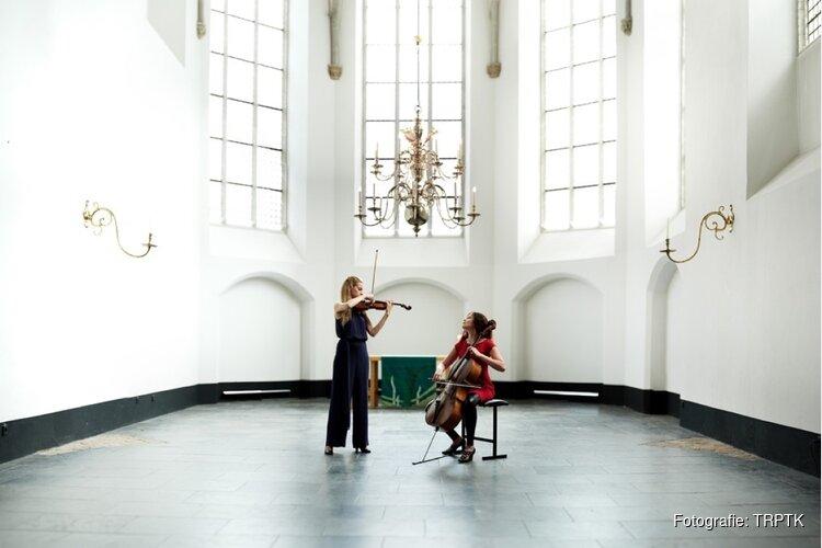 Merel Vercammen Maya Fridman live tijdens bijzonder concert bij Puur AVD in Oostzaan