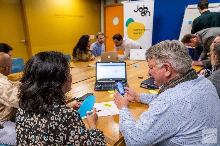 Netwerken met werkzoekenden in Zaanstad op 25 en 26 augustus