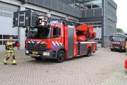 Brand in wasmachine aan de Prins Bernhardplein