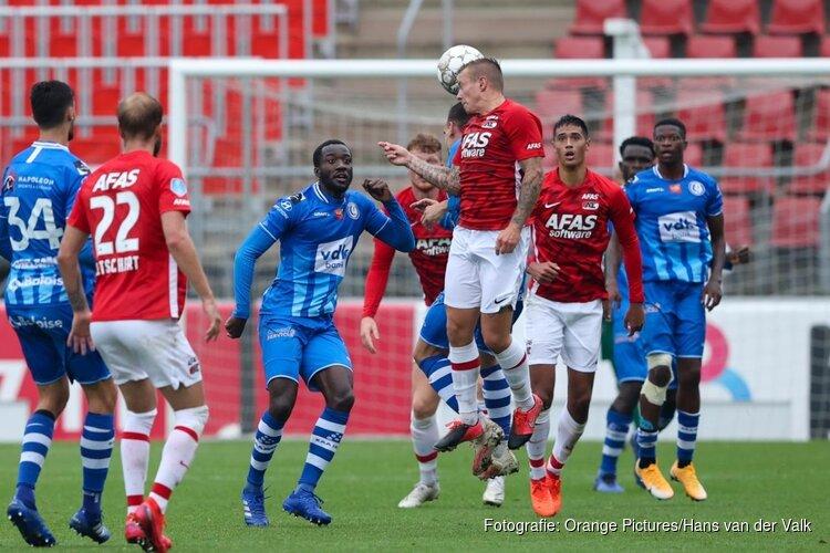 AZ en AA Gent spelen gelijk bij debuut Timo Letschert
