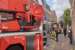 Dakbrand blijken rokende worsten (Zaandam)