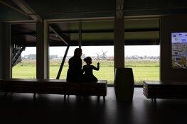 Drie maal is scheepsrecht bij de opening van het nieuwe Molenmuseum op de Zaanse Schans