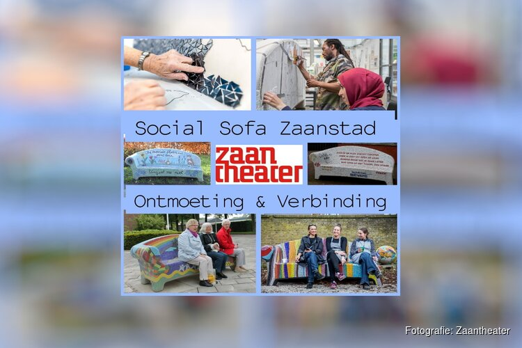 Zaantheater haalt Social Sofa naar Zaanstad