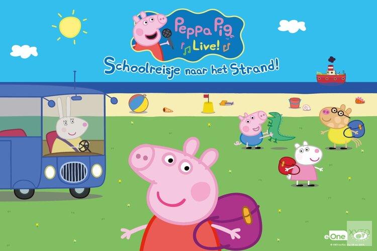 Familievoorstelling: 'Peppa Pig Live! - Schoolreisje naar het Strand' in Zaandam