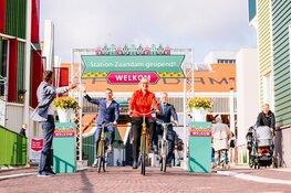 Officiële opening vernieuwd stationsgebied Zaandam