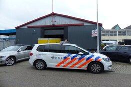 Politie-inval bij bedrijven in Wormerveer