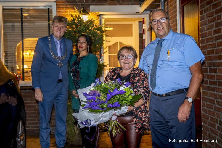 Vier Koninklijke onderscheidingen uitgereikt in Zaanstad