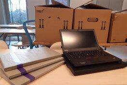 Start uitdelen extra laptops aan 550 Zaanse leerlingen