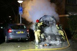 Getuigen gezocht na autobrand