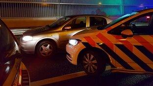 Spectaculaire achtervolging door Zaandam en Amsterdam: auto ramt politiewagens