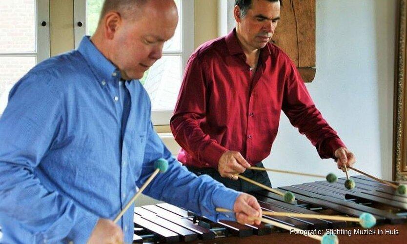 Muziekconcert Holland Marimba duo in Pennemes