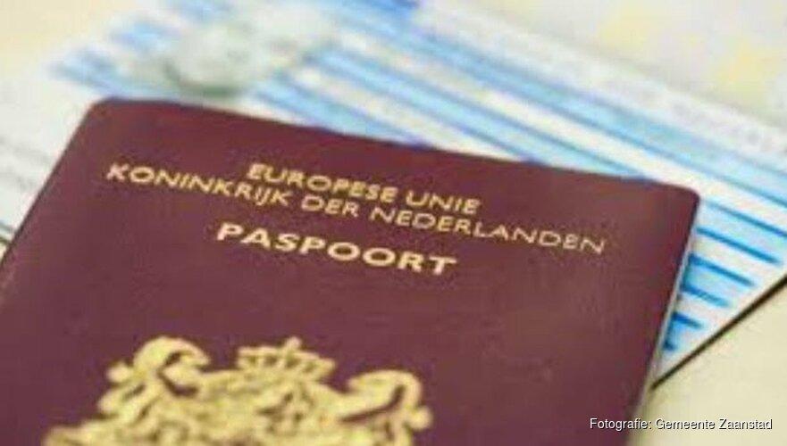 Gemeente Zaanstad gaat reisdocumenten thuis bezorgen