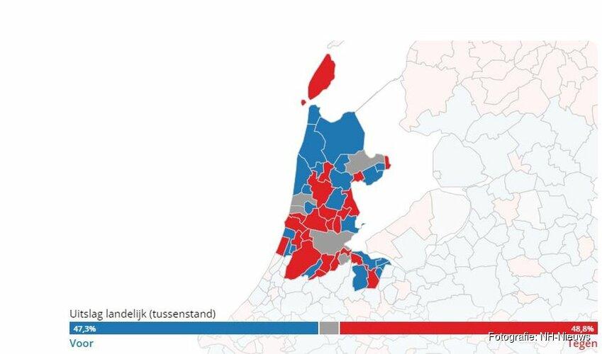 Meeste Noord-Hollanders stemden tegen de inlichtingenwet