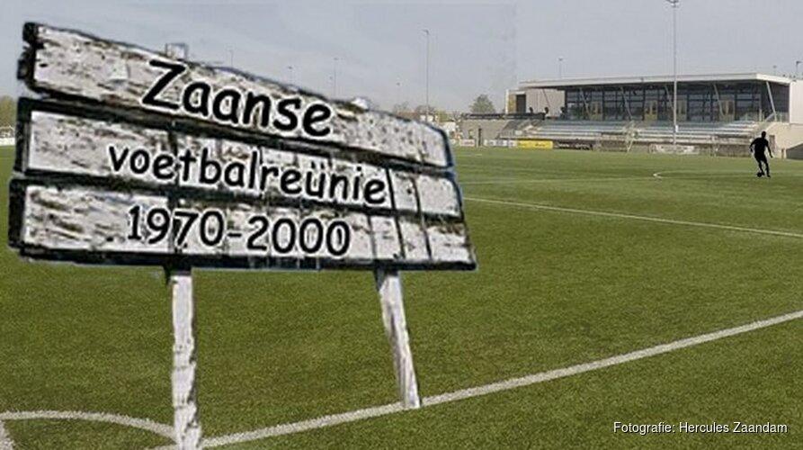 Zaanse voetbalreünie bij Hercules Zaandam