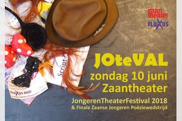 JOteVAL in Zaantheater; dag vol jong theater- en poëzietalent