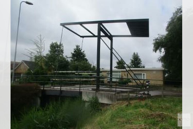 Afsluiting voor autoverkeer t.h.v. Kolkslootbrug op het Zuideinde