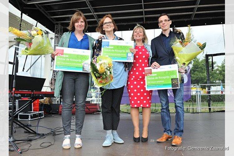 Sunna Borghuis wint Hotze de Roosprijs Beste kinderboekendebuut 2018: Dikke Vik en Vieze Lies worden vrienden