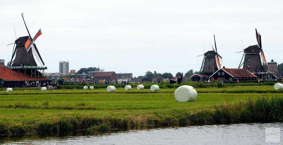 'Overstekende toeristen zorgen voor gevaarlijke situaties op fietspad Zaanse Schans'