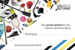 Sportbedrijf Zaanstad lanceert KIES JE SPORT bij Zaanse verenigingen